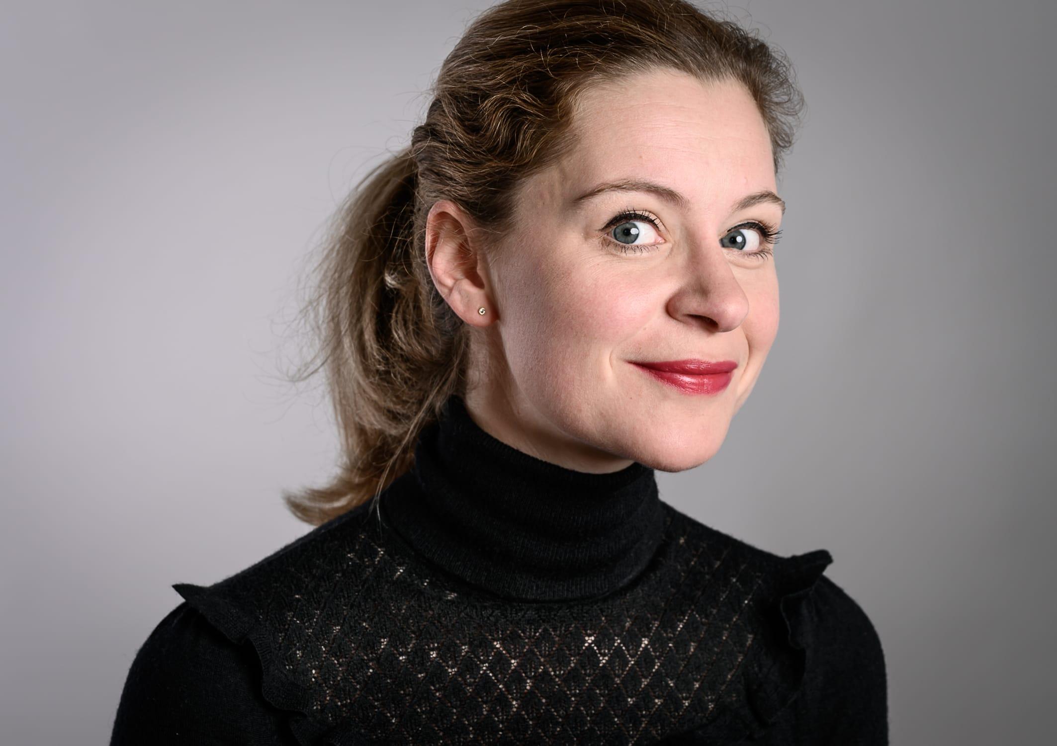 portrait Foto von Luise Hansen