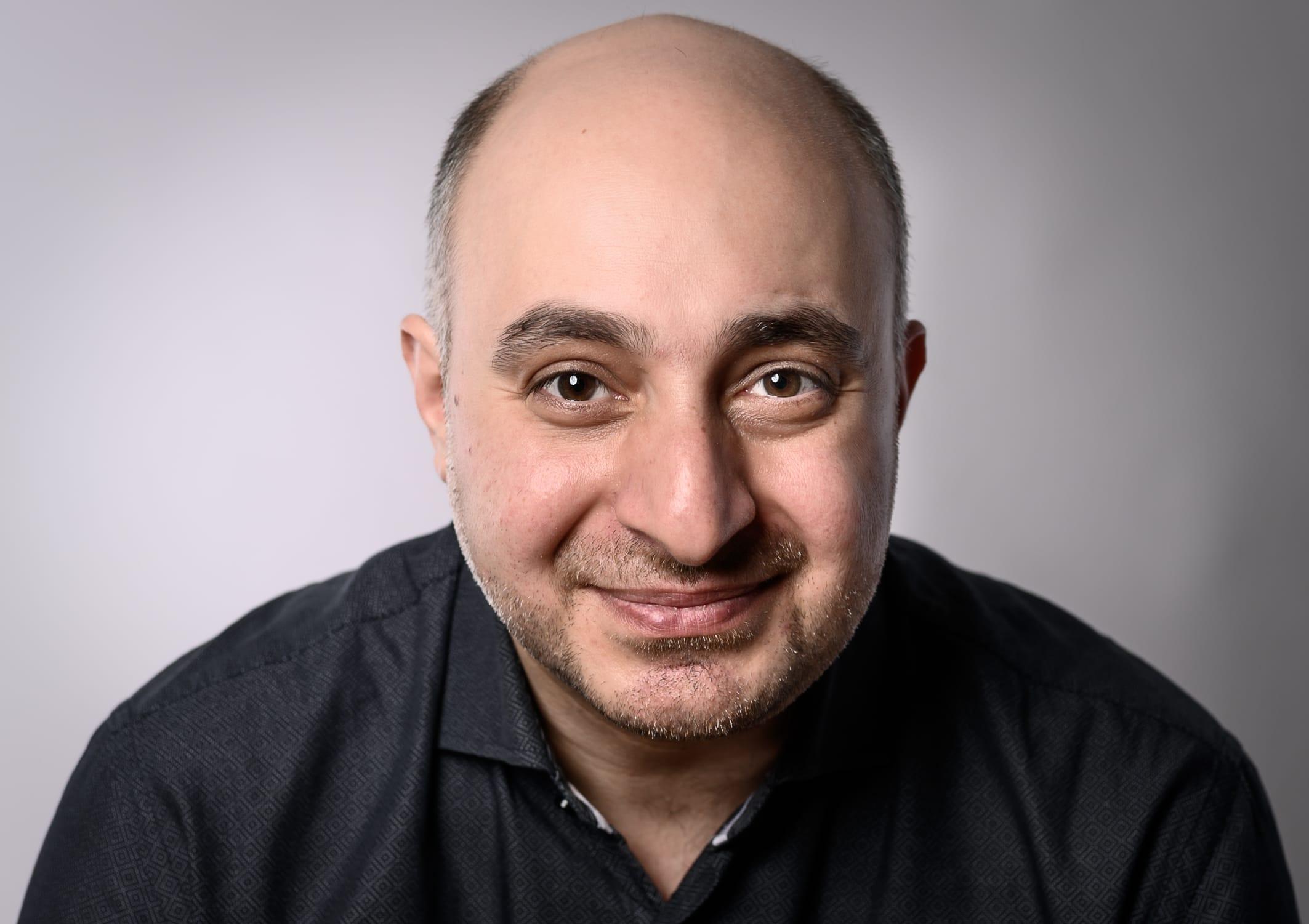 portrait Foto von Ramin Varzandeh