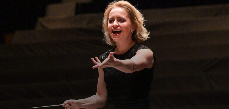 Dirigentin Anna Skryleva