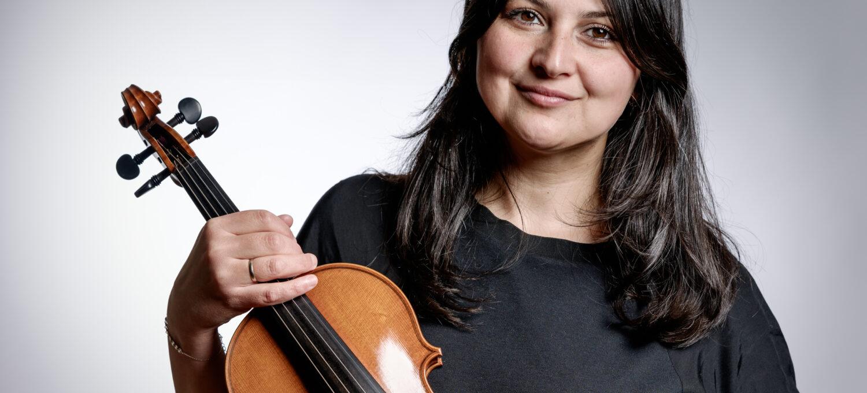 Anastasia Simeonidi, Zweite Violine, Neubrandenburger Philharmonie
