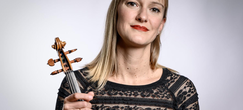 Elsa Claveria, 1. Konzertmeisterin, 1. Violine, Neubrandenburger Philharmonie