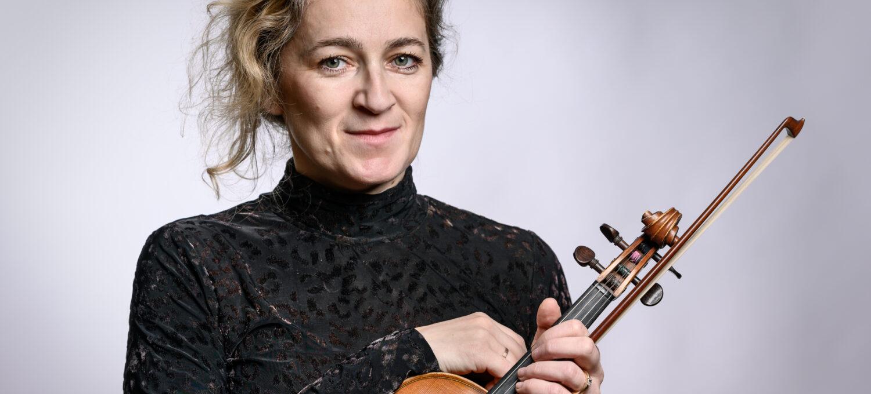 Maria Nowak-Walbrodt, Vorspielen der 1. Violinen, Neubrandenburger Philharmonie