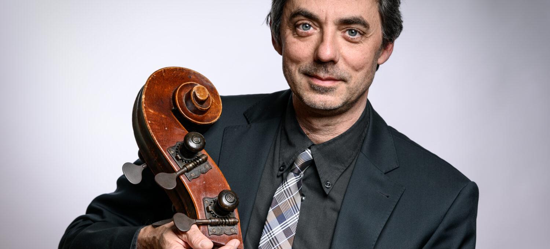 Matthias Linke, Kontrabass, stellvertretender. Solobassist, Neubrandenburger Philharmonie